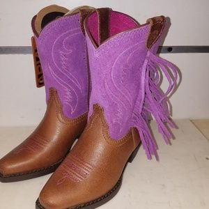New Ariat 10012797 Fancy fringe Cowgirl boot